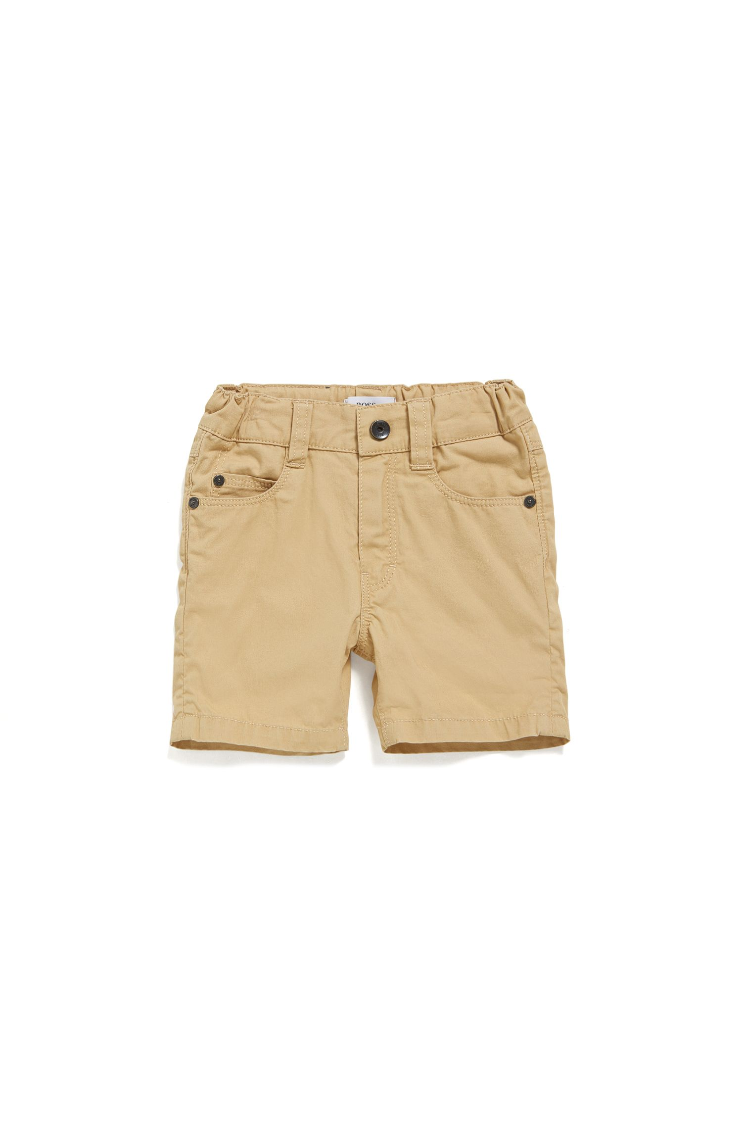 Baby cotton shorts in five-pocket style: 'J04259'