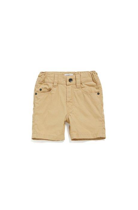 Baby-Shorts aus Baumwolle im Five-Pocket-Stil: 'J04259', Beige