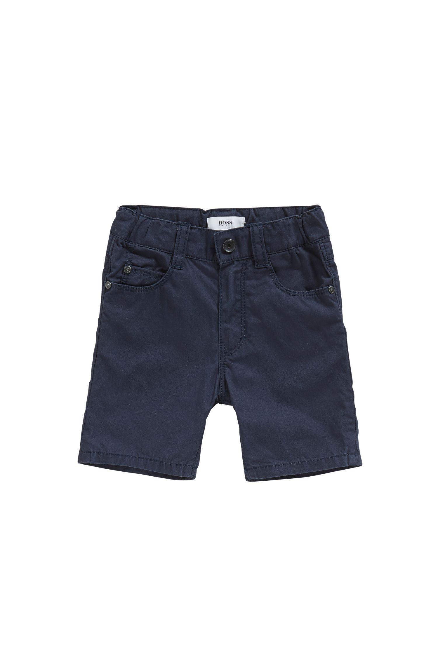 Babyshort van katoen in 5-pocket-stijl: 'J04259'