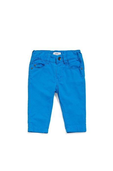 76994bfd9e BOSS - Pantalon pour bébé en coton de style cinq poches   « J04266 »