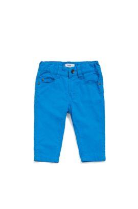 Baby-Hose aus Baumwolle im Five Pocket-Stil: 'J04266', Blau