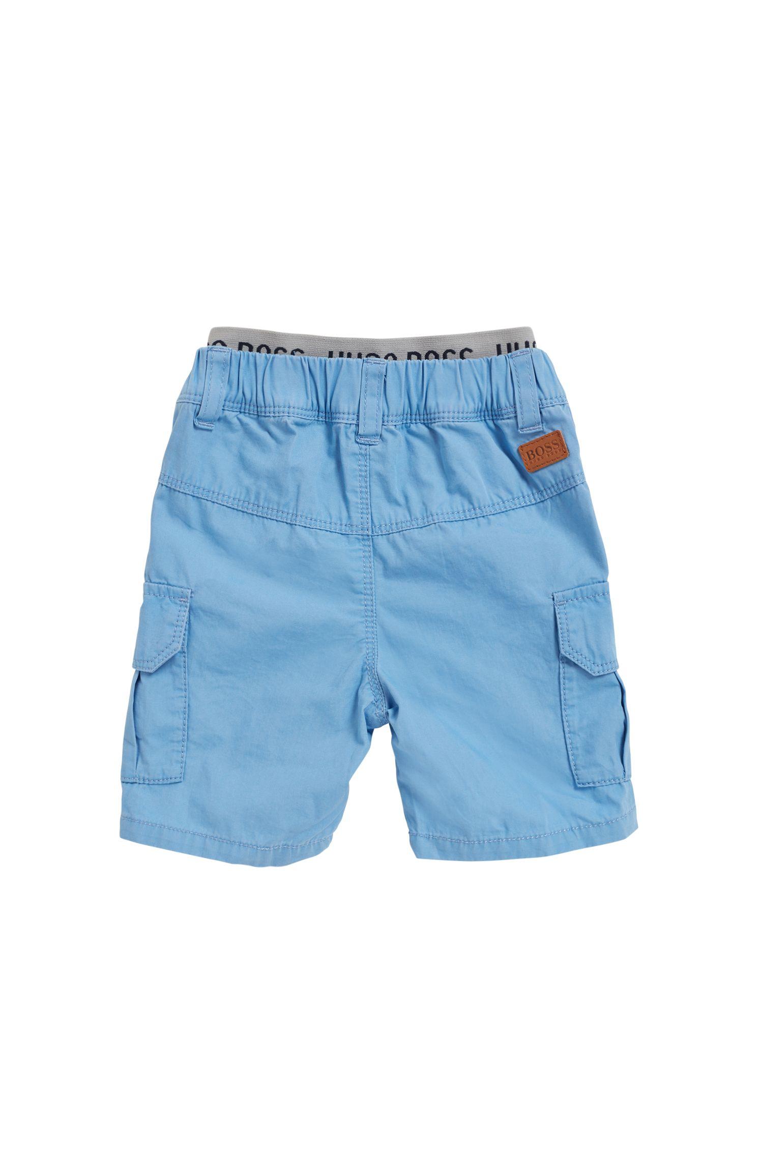 Bermuda pour enfant en coton, à taille élastique