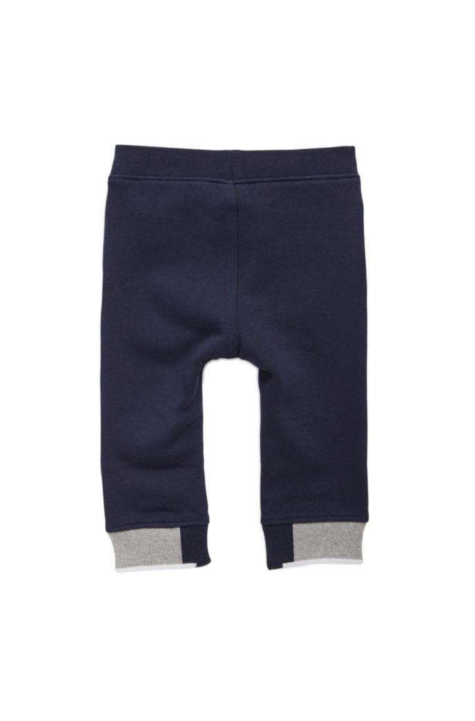 Pantalon d'intérieur pour enfant en molleton à logo imprimé