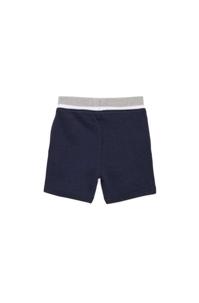 Kids-Shorts aus French Terry mit Logo-Print