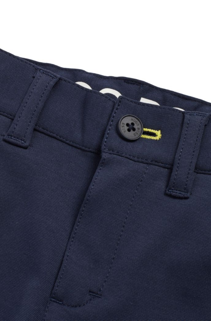Pantalon Slim Fit pour enfant en coton stretch mélangé
