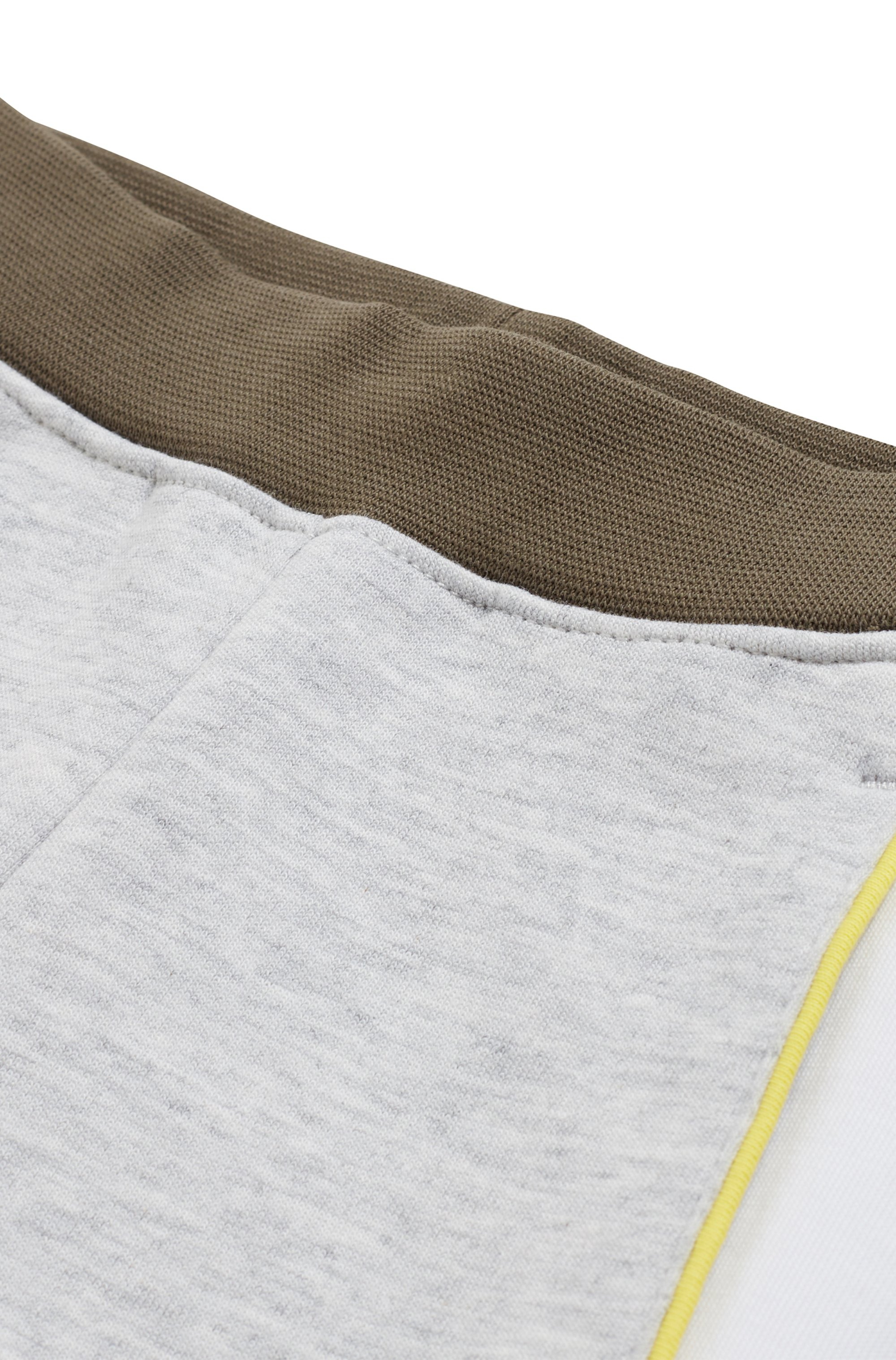 Kids' cotton-blend shorts with logo-tape detailing
