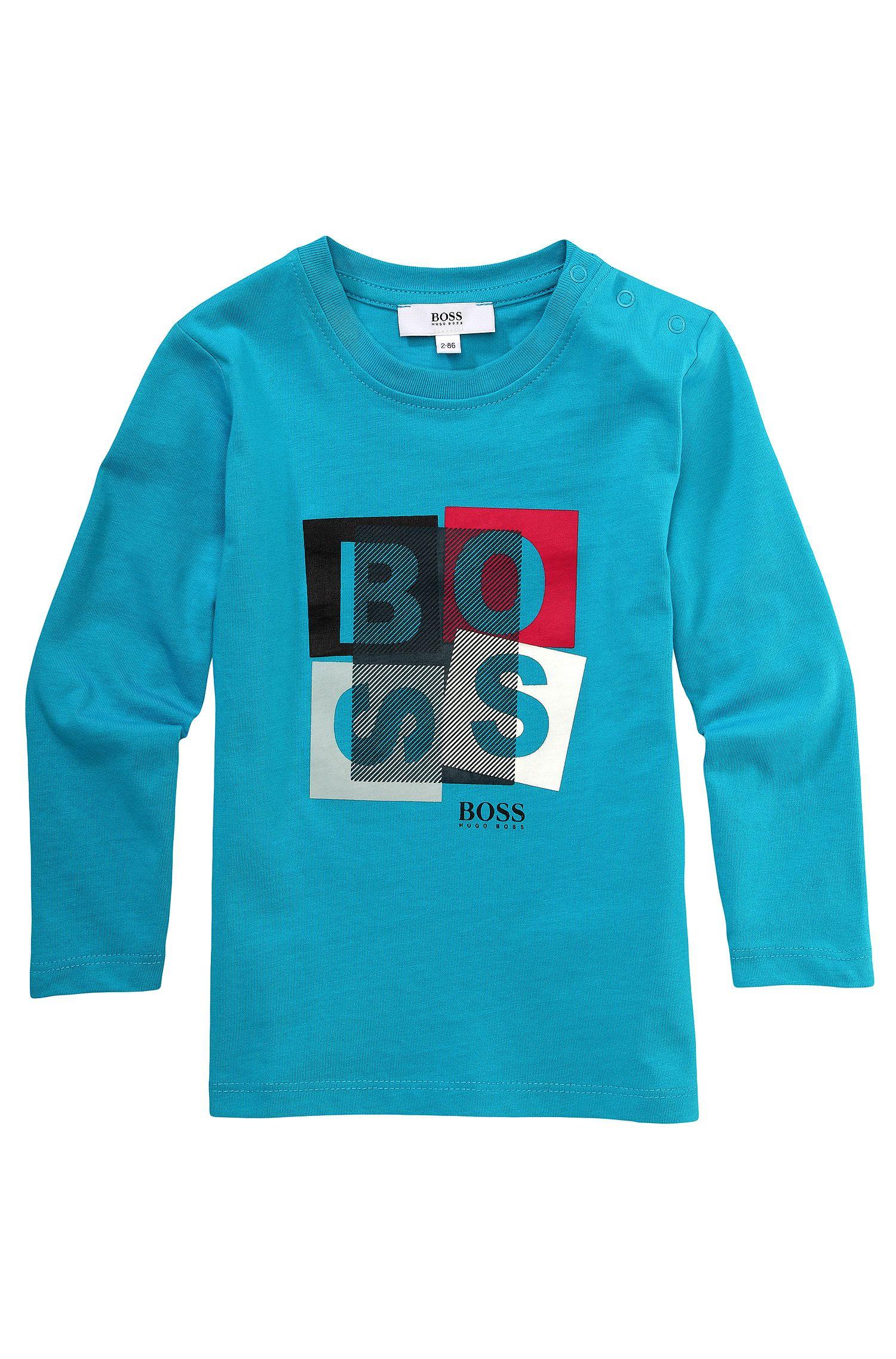 T-shirt à manches longues pour enfant «J05315» en coton