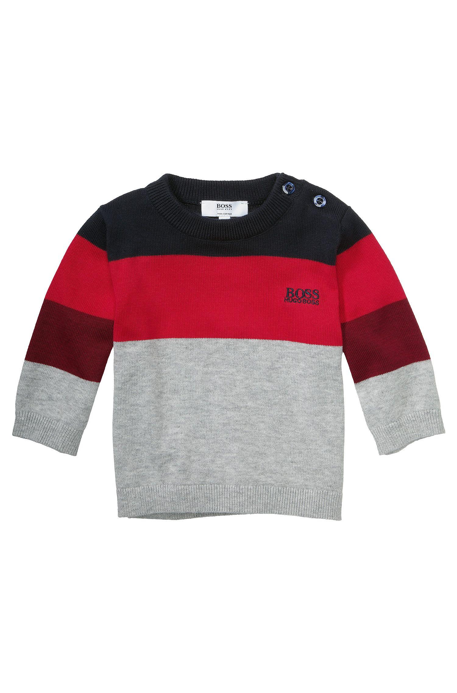 Pull pour enfant «J05321» en coton