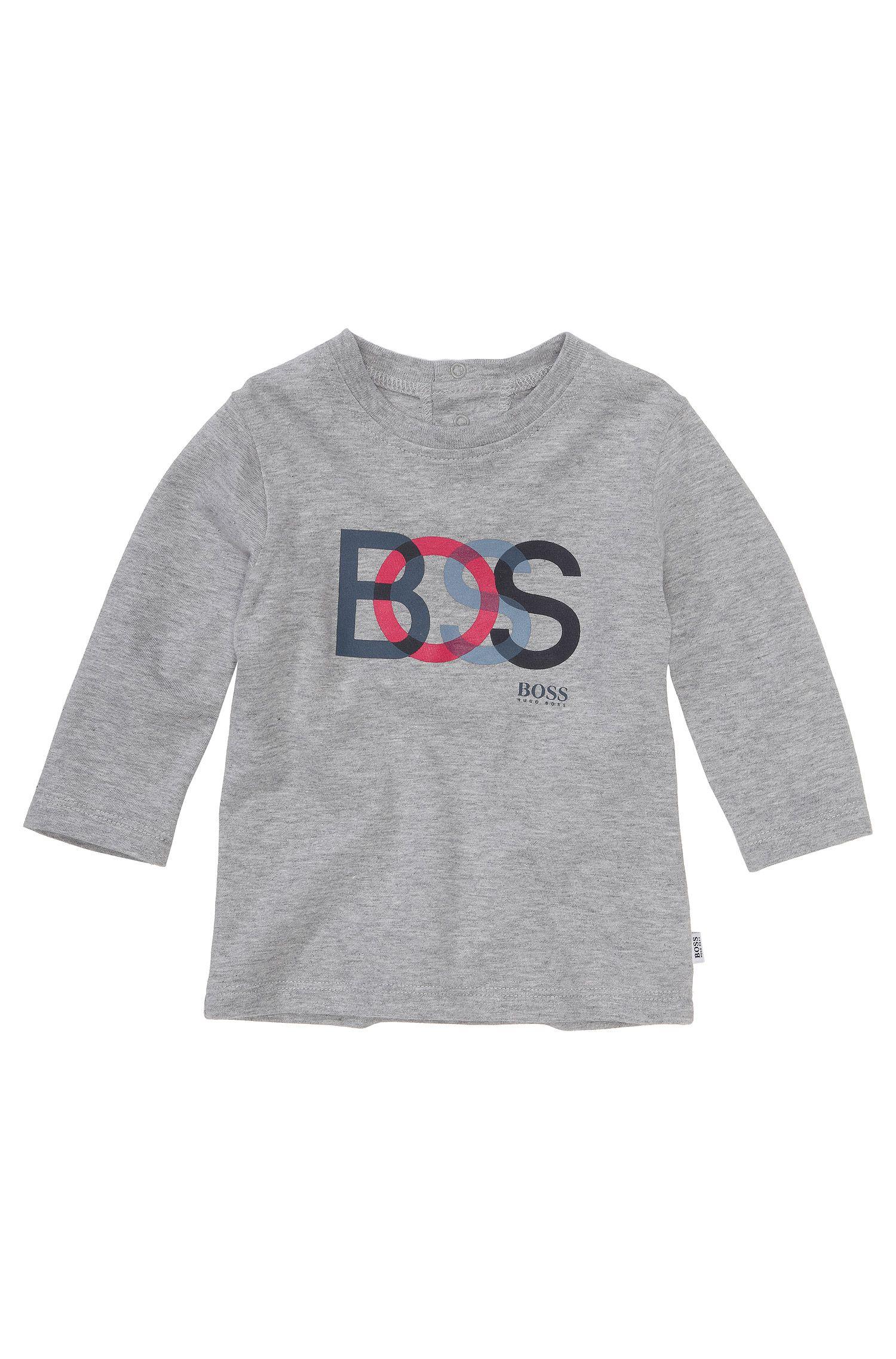 T-shirt à manches longues pour enfant «J05325» en coton