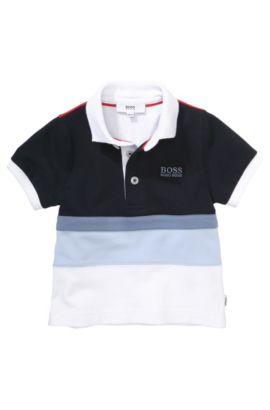 Polo pour enfant «J05326» en maille piquée, Fantaisie
