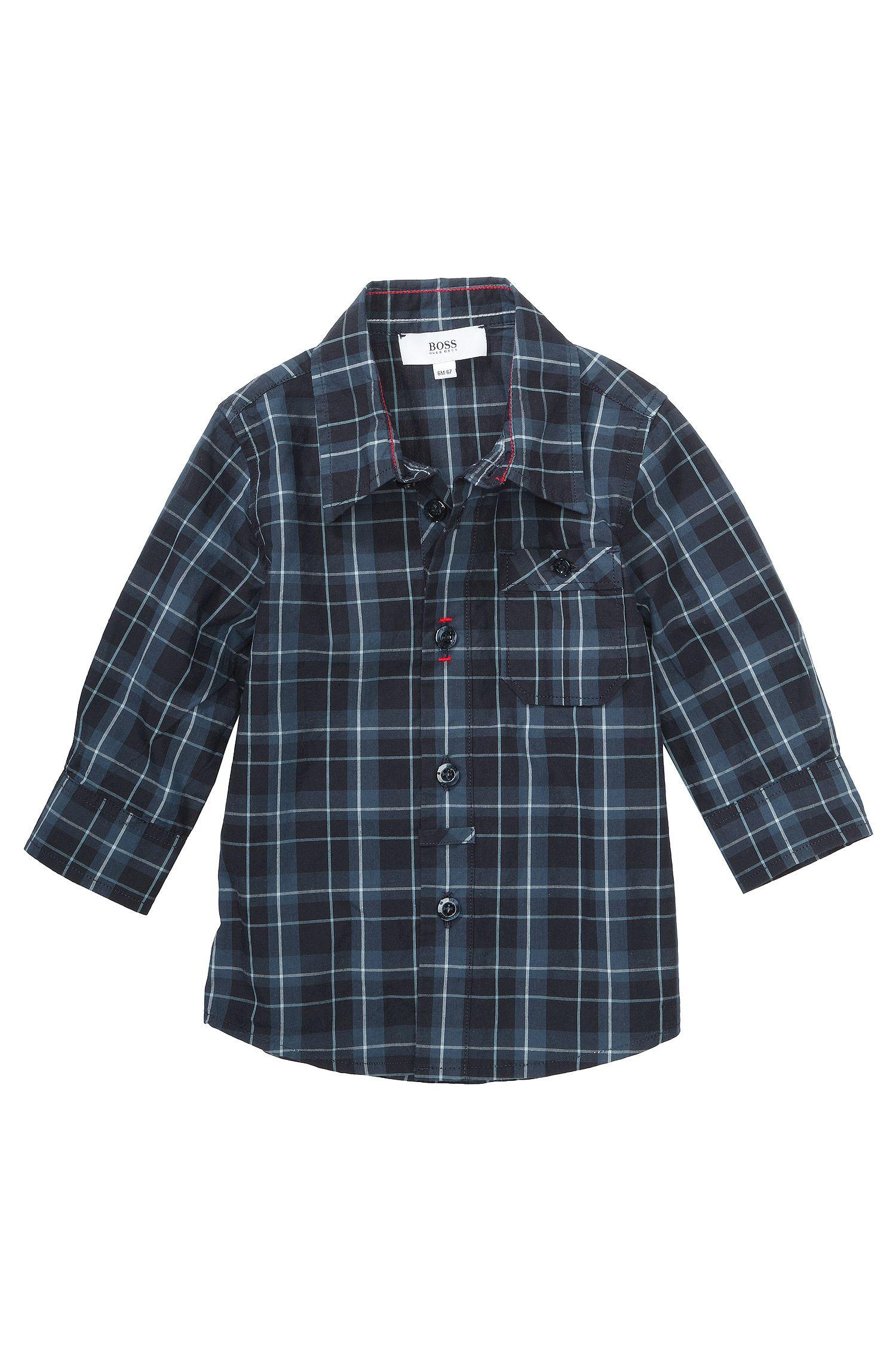 Chemise pour enfants «J05328» en coton