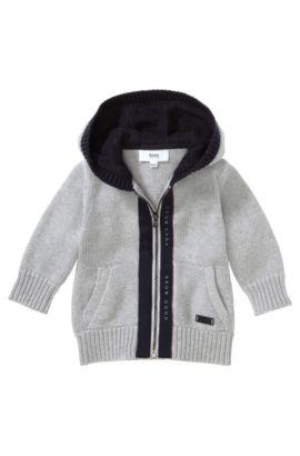 Kids Sweatshirt-Jacke ´J05331`, Hellgrau