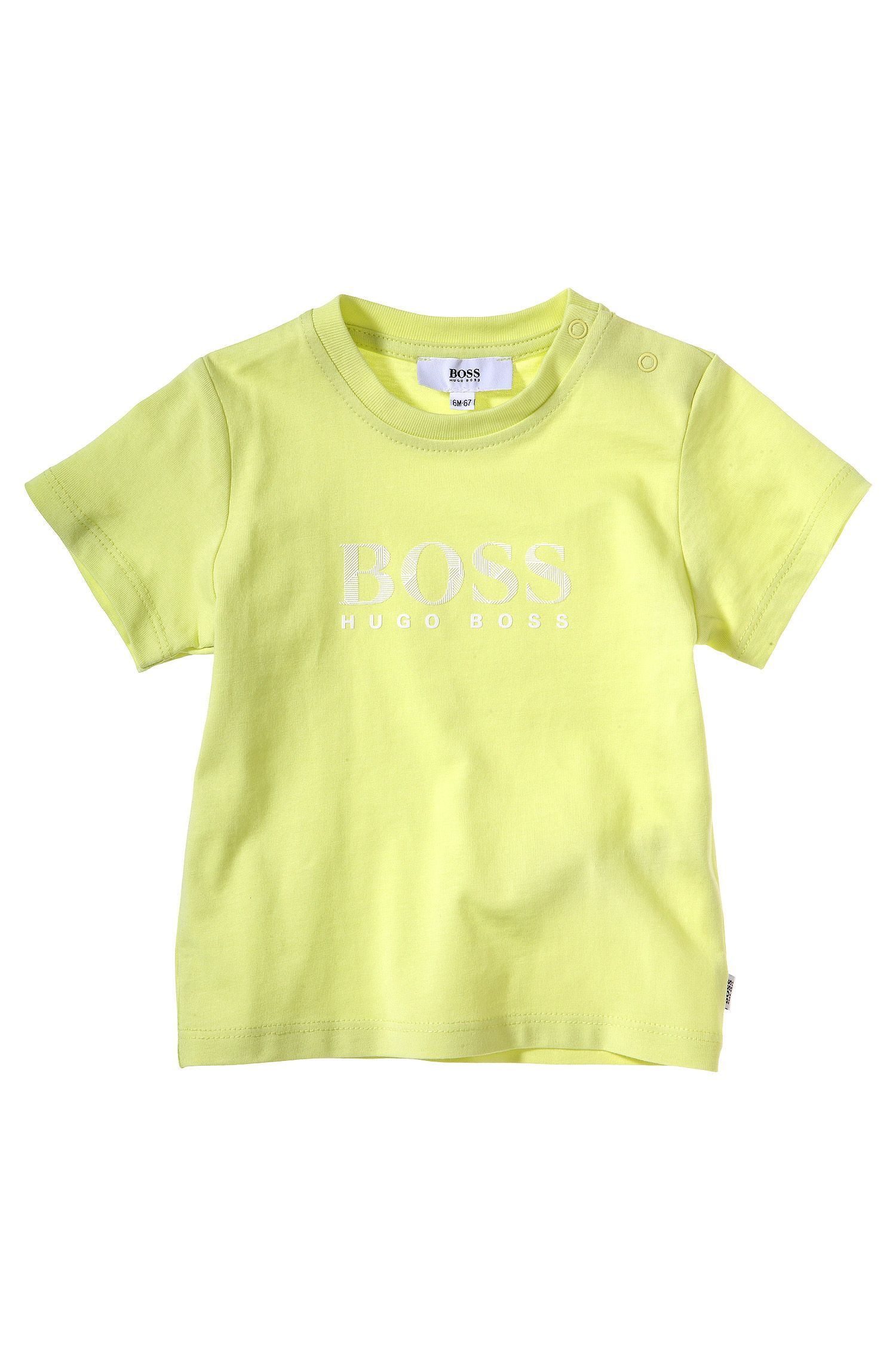 Kinder-T-shirt 'J05351' van katoen