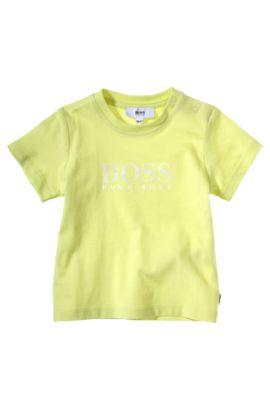 Kids-T-Shirt ´J05351` aus Baumwolle, Hellgrün