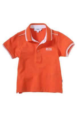 Kids-Piqué-Polo ´J05354` aus Baumwolle, Orange