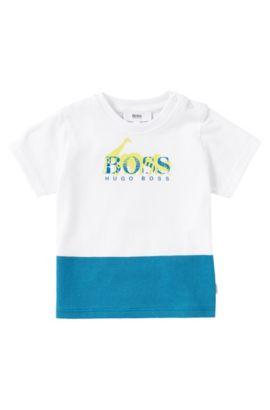 Kinder-T-shirt 'J05368' van katoen, Wit