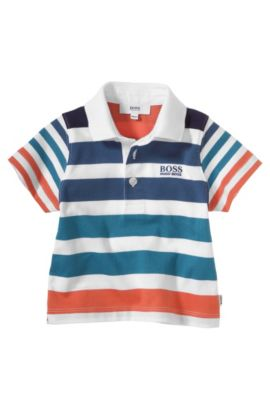 Polo pour enfant «J05369» en coton, Orange