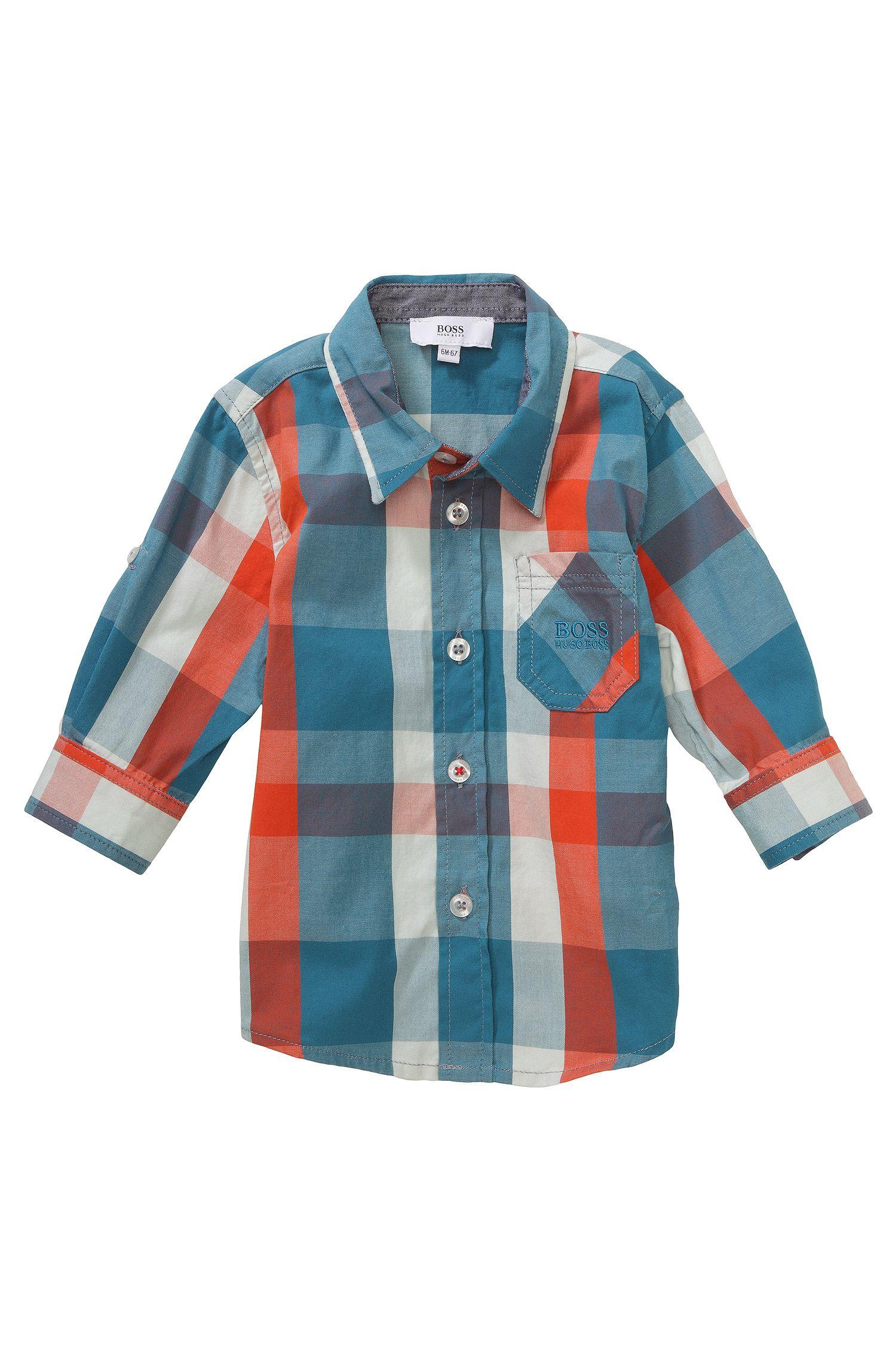 Chemise pour enfant «J05370» en coton