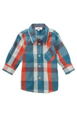 Kinderoverhemd 'J05370' van katoen, Bedrukt