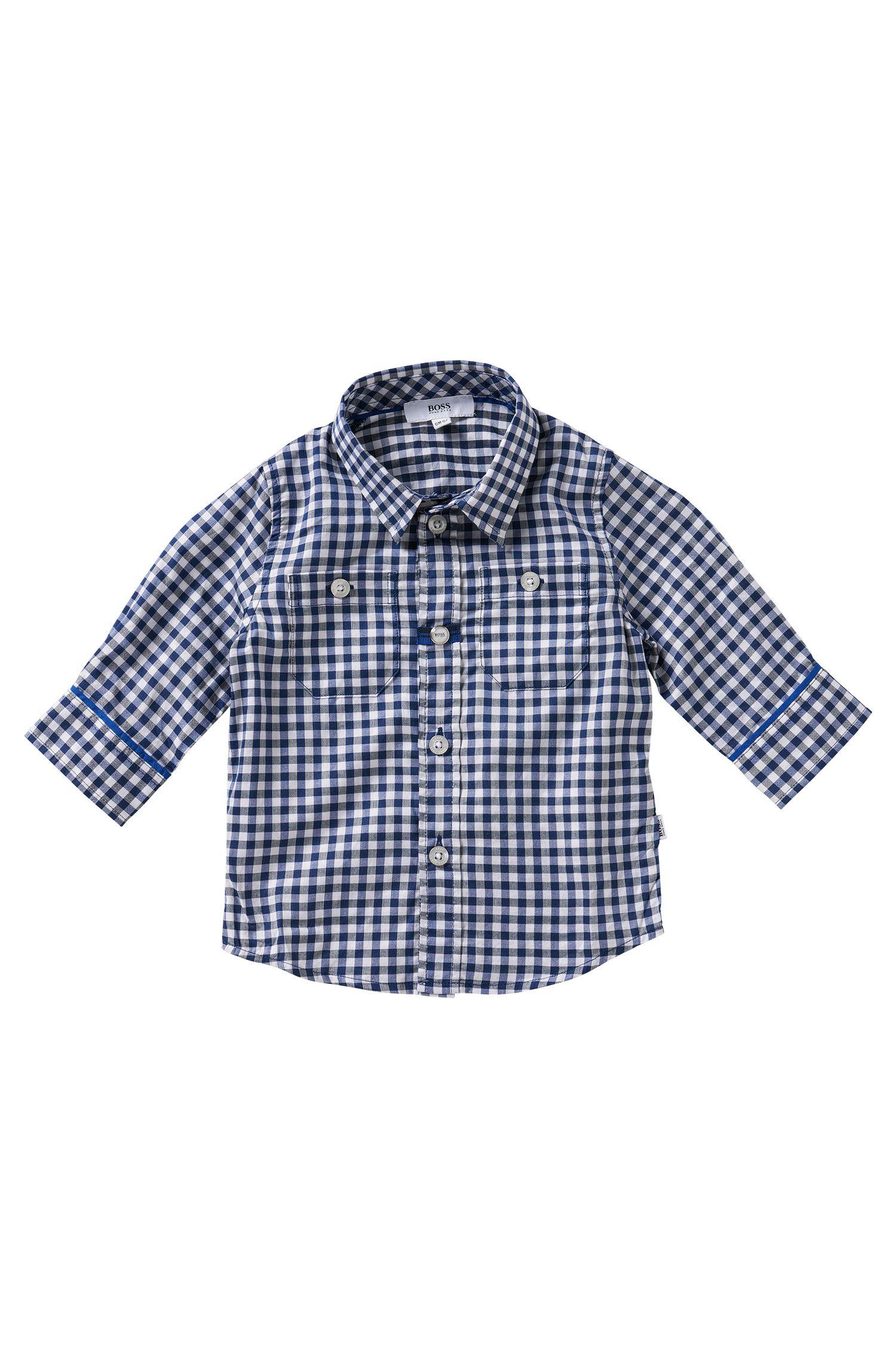 Kinderoverhemd van katoen: 'J05407'