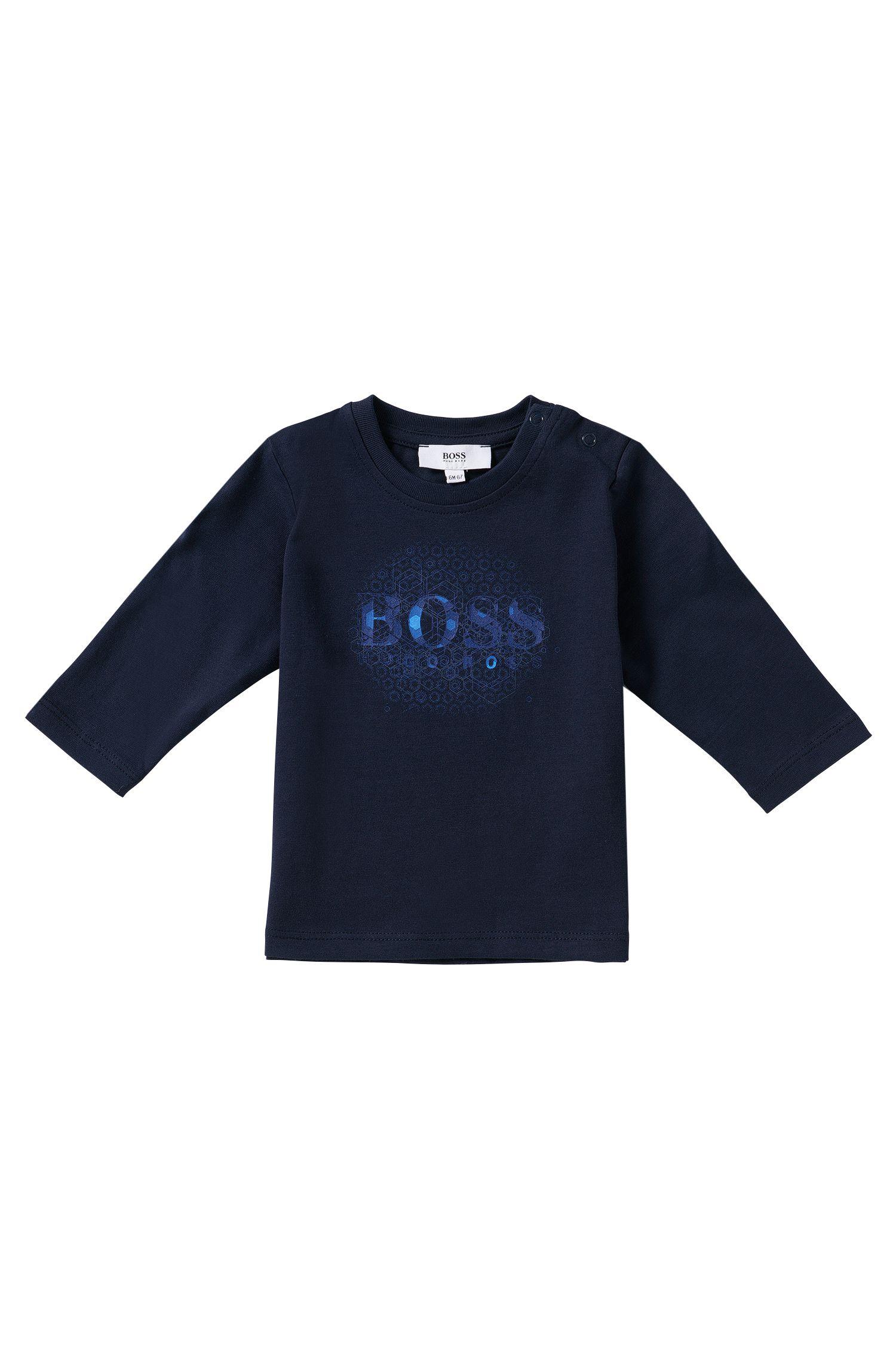 T-shirt manches longues pour enfant en coton: «J143163»