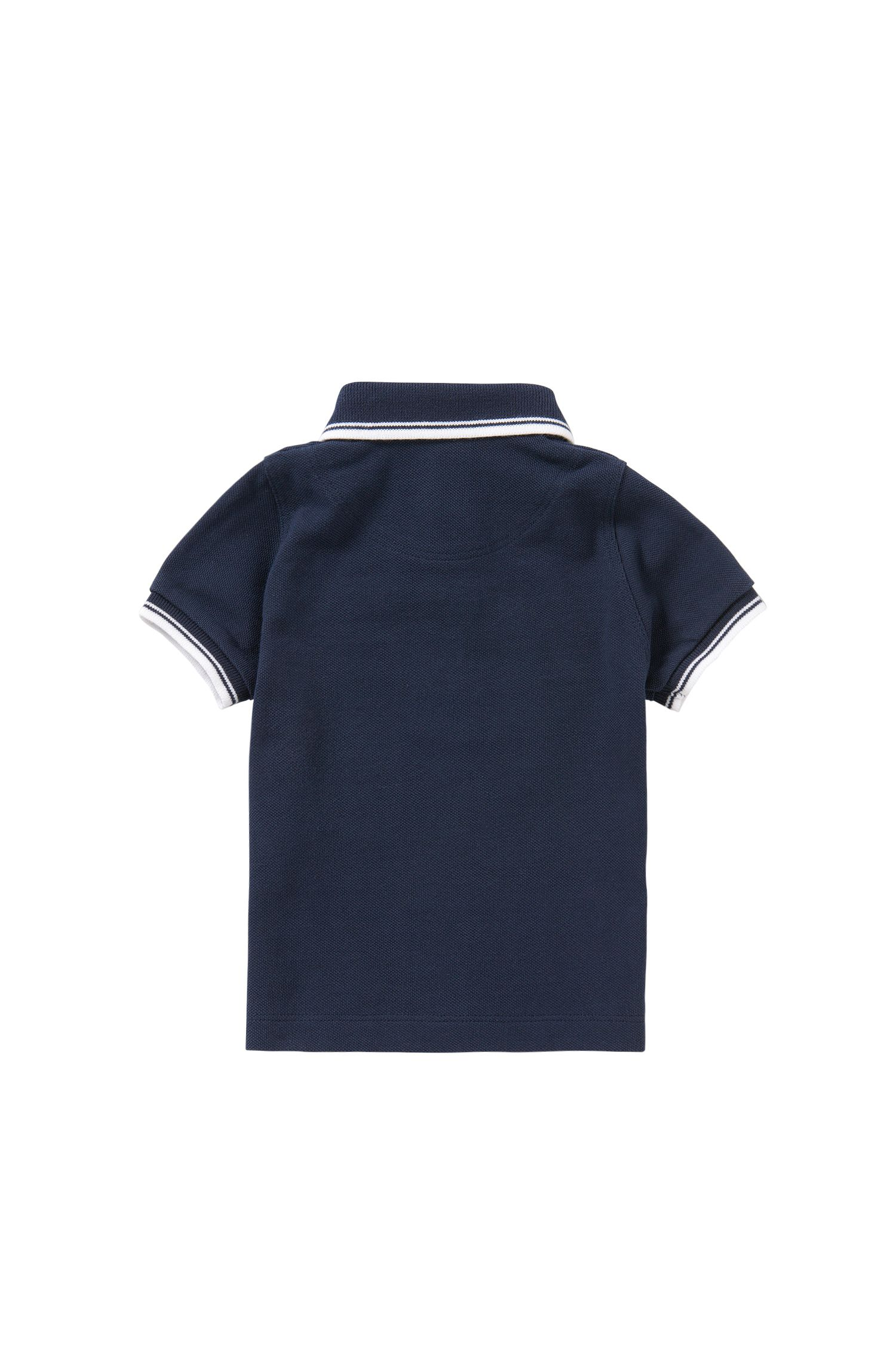 Newborn's polo shirt in cotton: 'J05440'