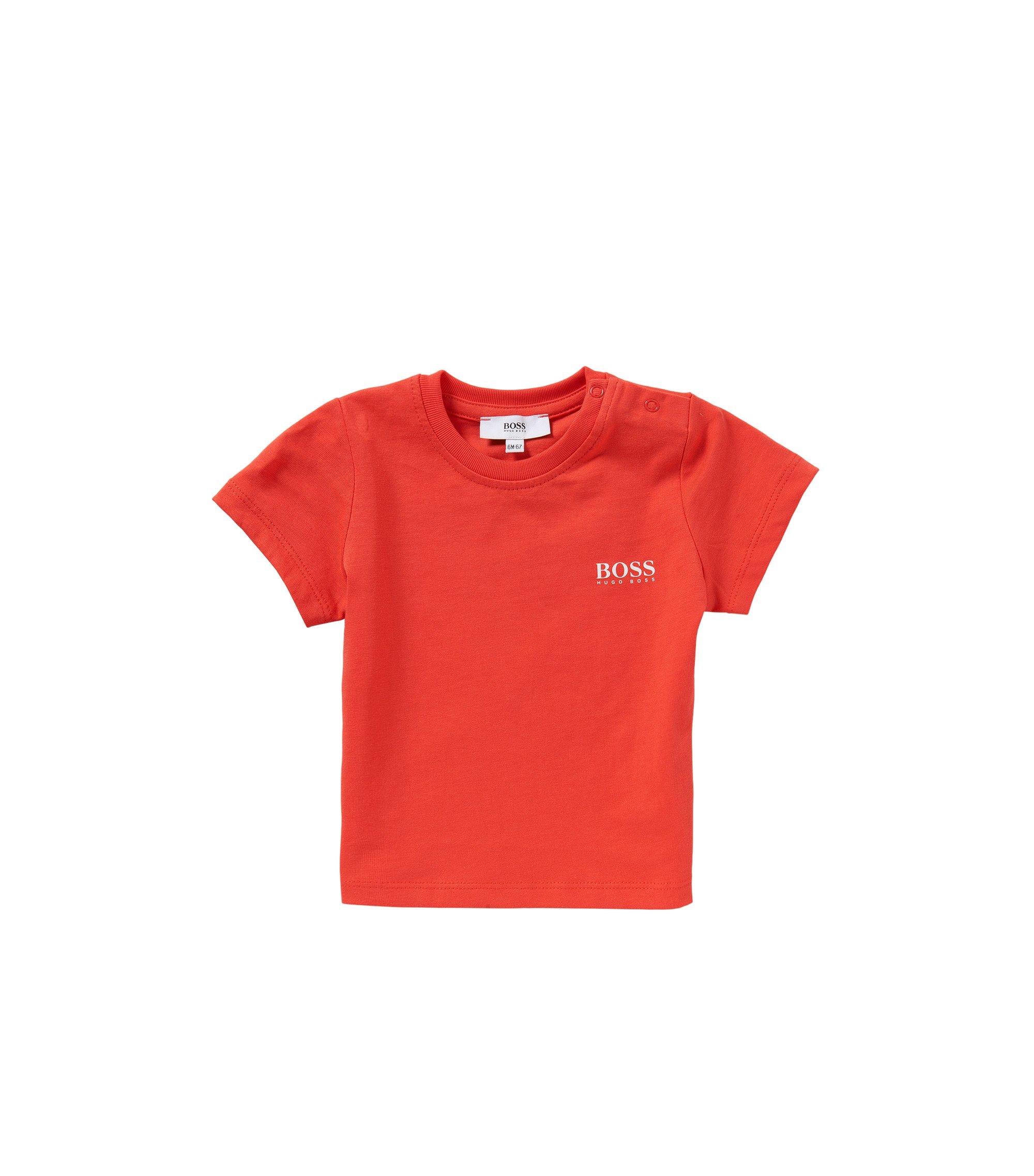 T-shirt pour bébé en coton: «J05451», Rouge