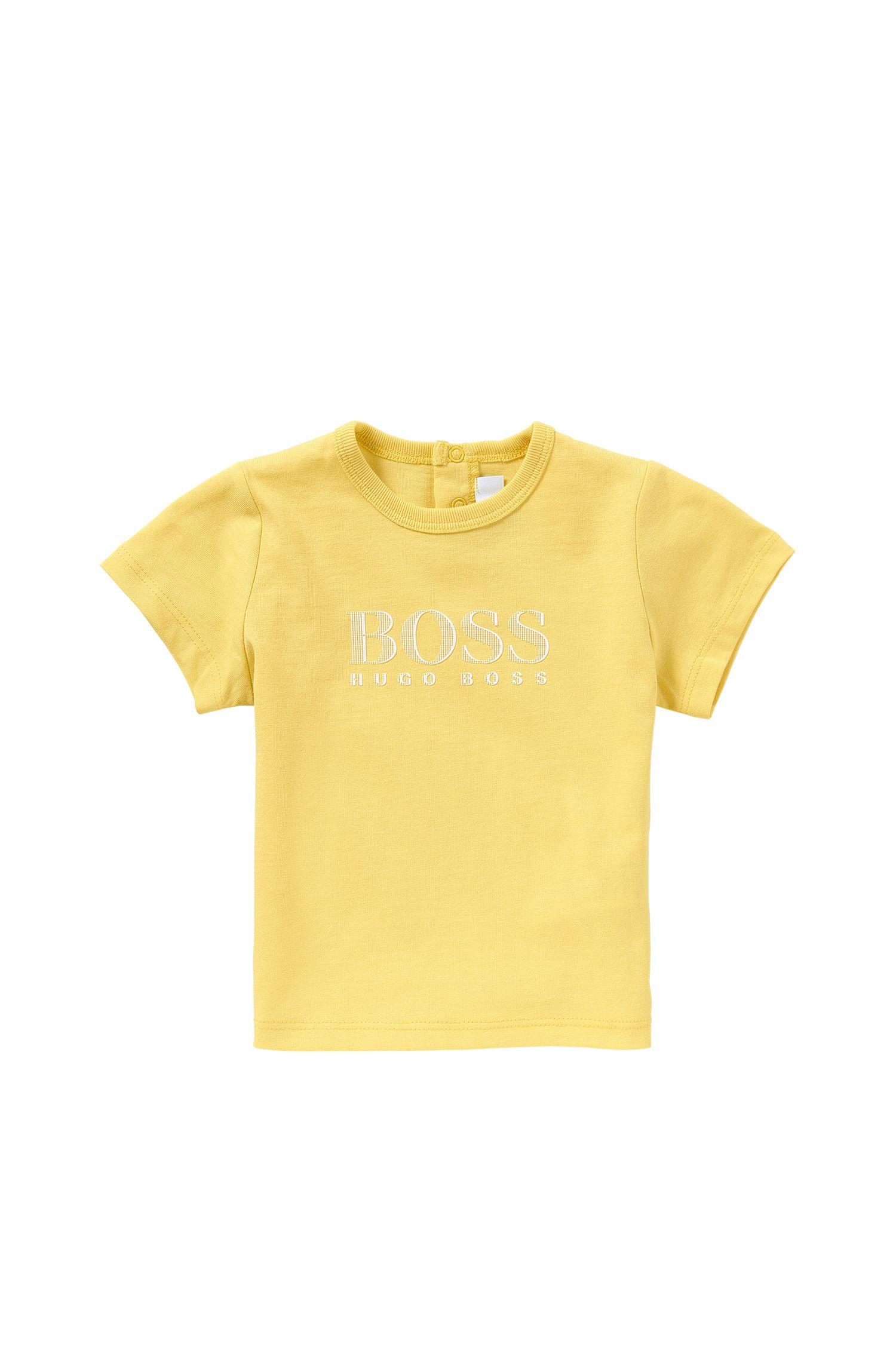 Baby-T-Shirt aus Baumwolle mit Front-Print: 'J05453'