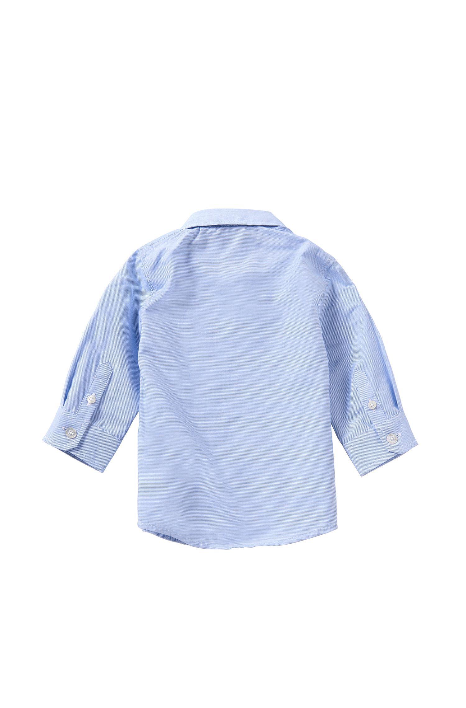 Camicia da neonato a righe sottili in cotone: 'J05466'