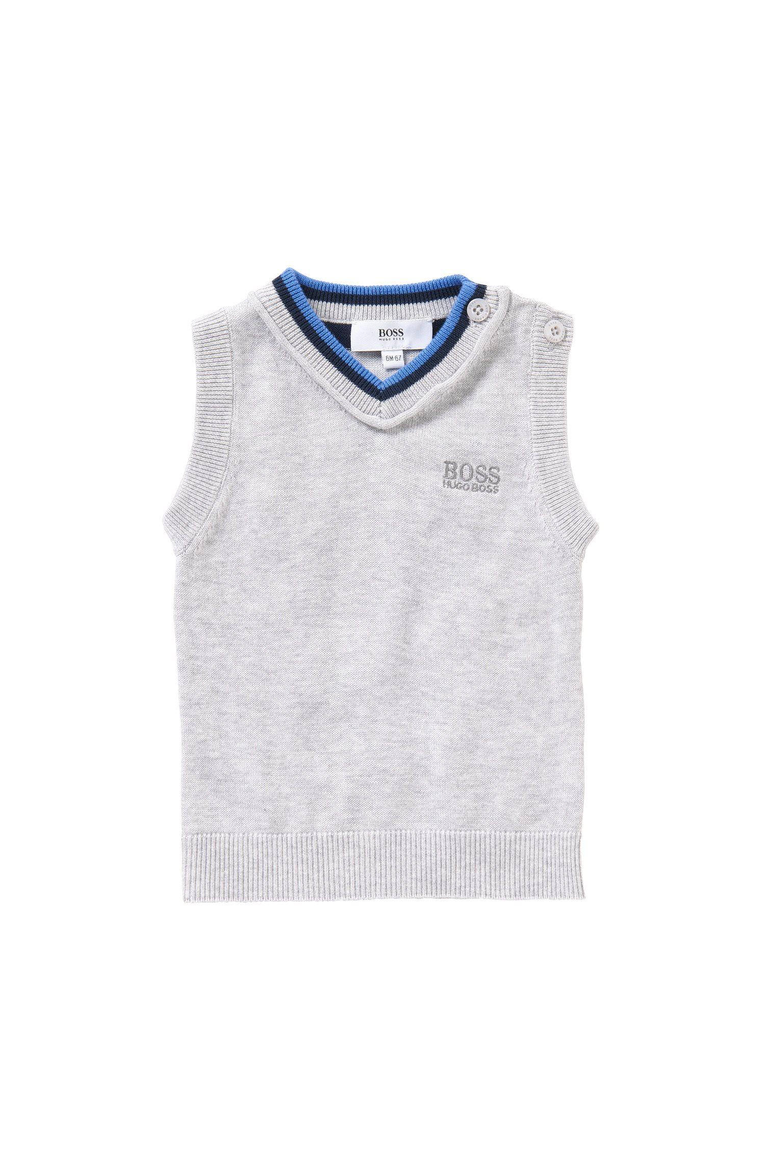 Débardeur pour bébé en coton: «J05472»