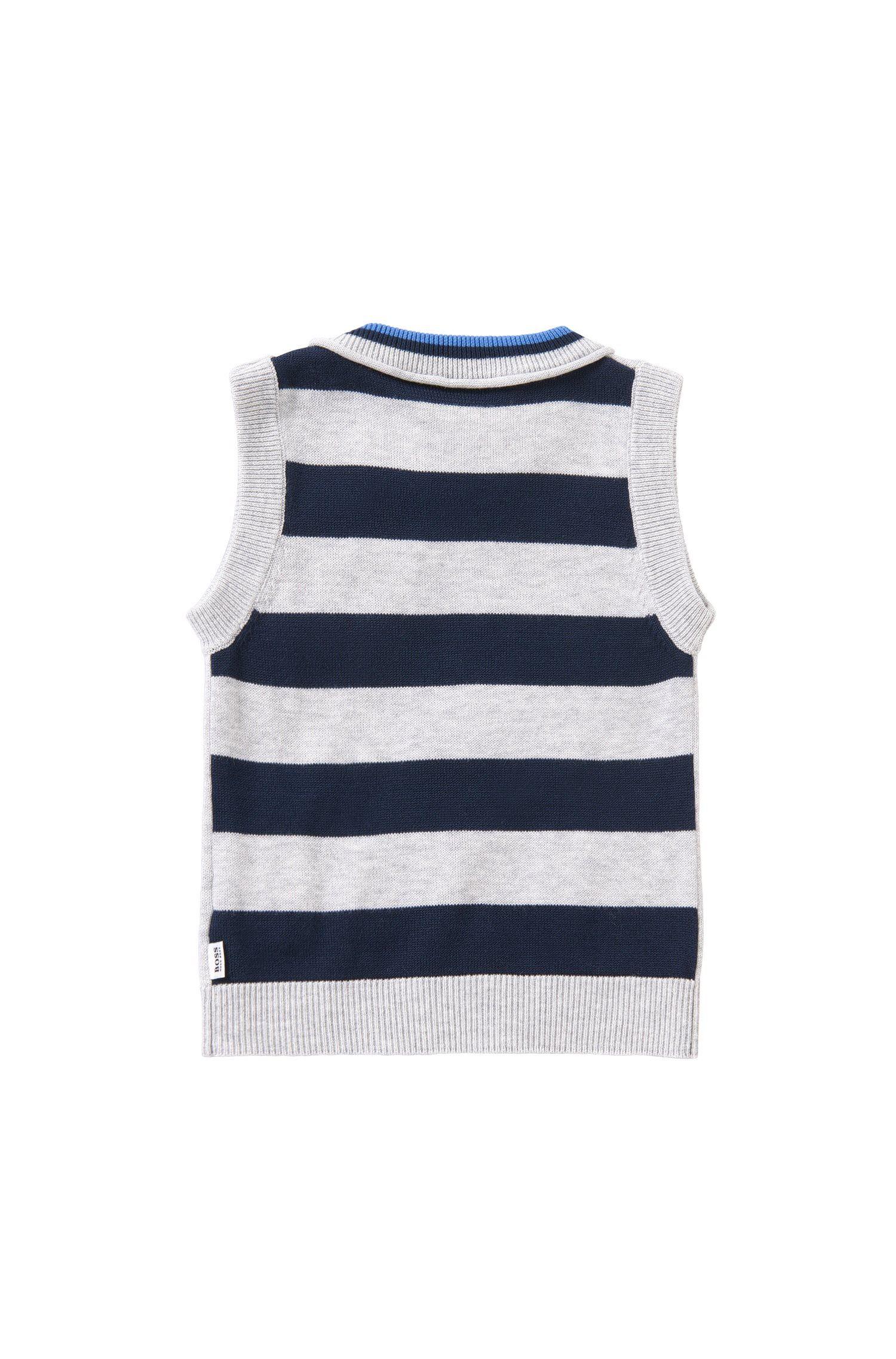 Baby-Pullunder aus Baumwolle: 'J05472'