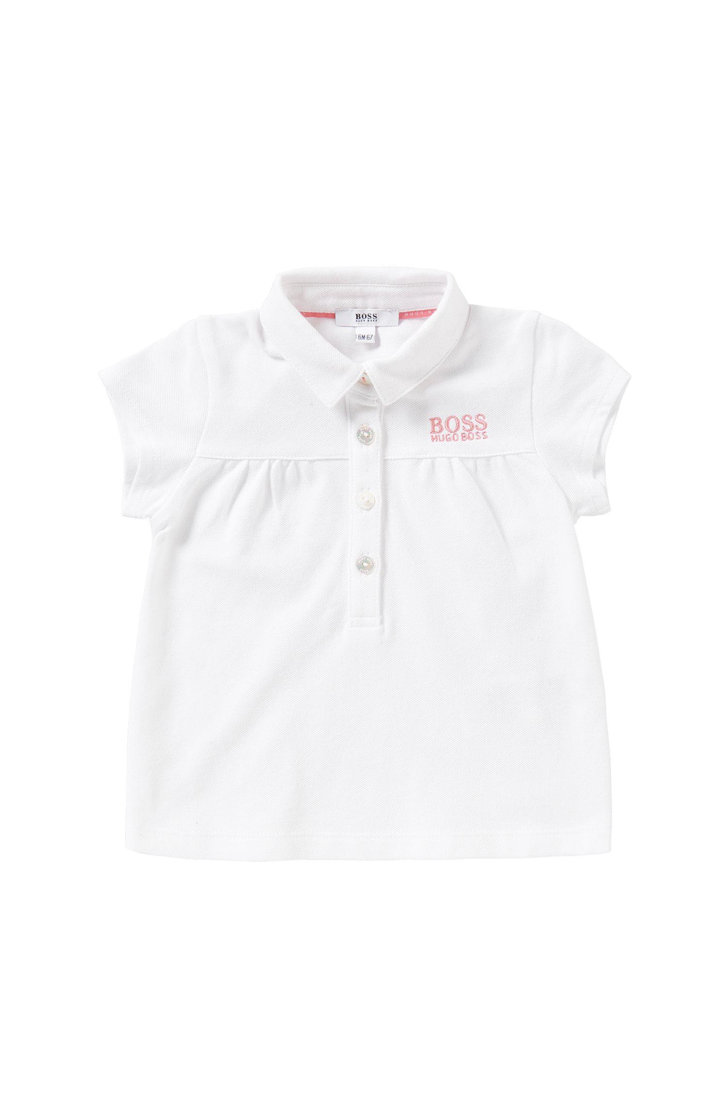 Polo da neonato in cotone elasticizzato: 'J05477'