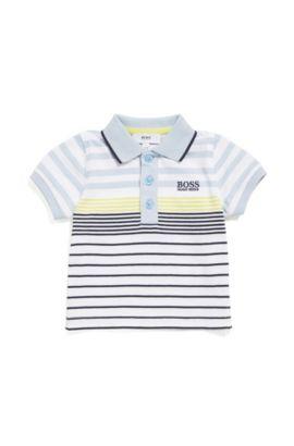 Polo pour bébé en coton à motif rayé: «J05543», Fantaisie