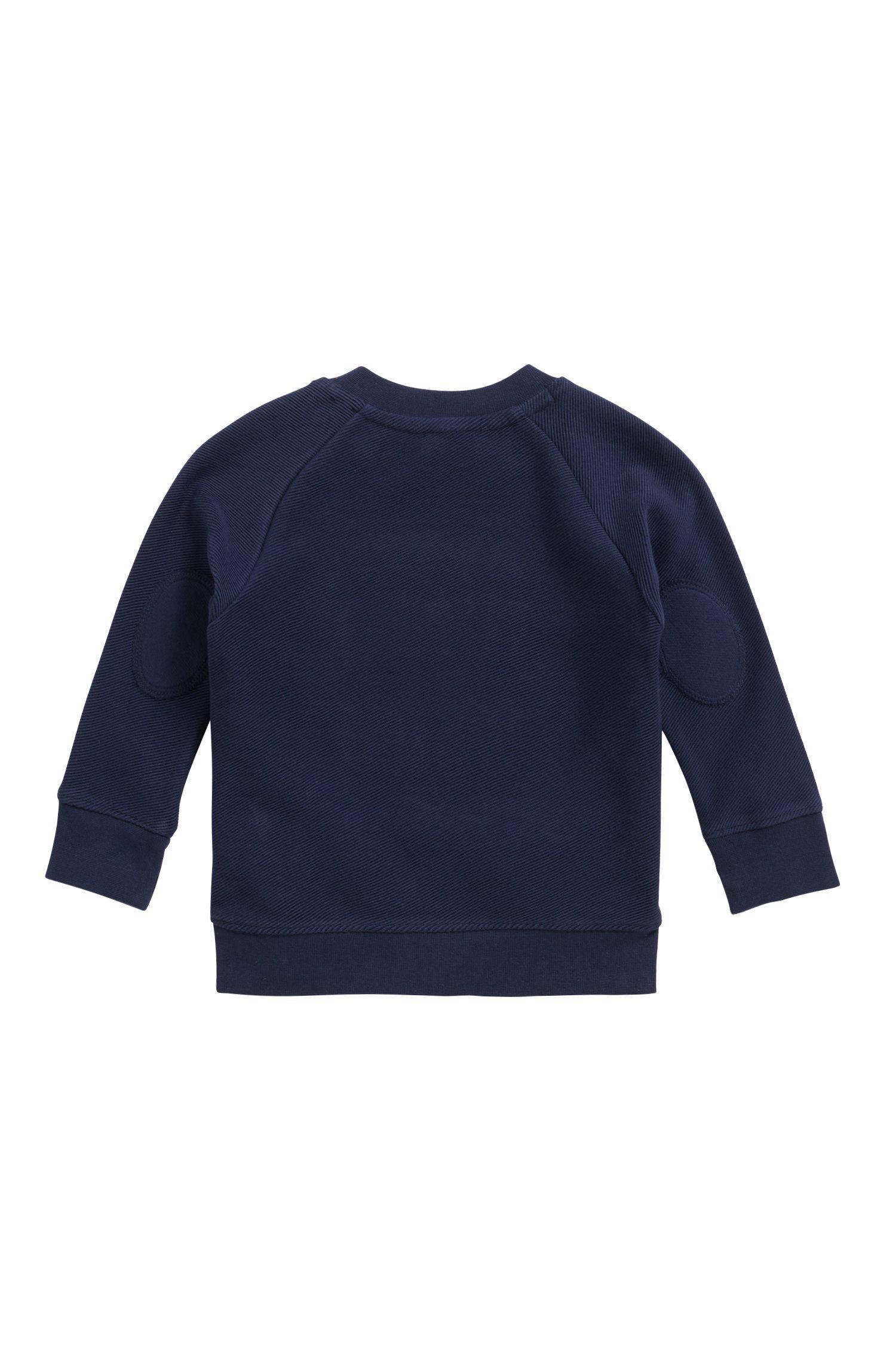 Baby-Sweatshirt aus Fleece, Dunkelblau