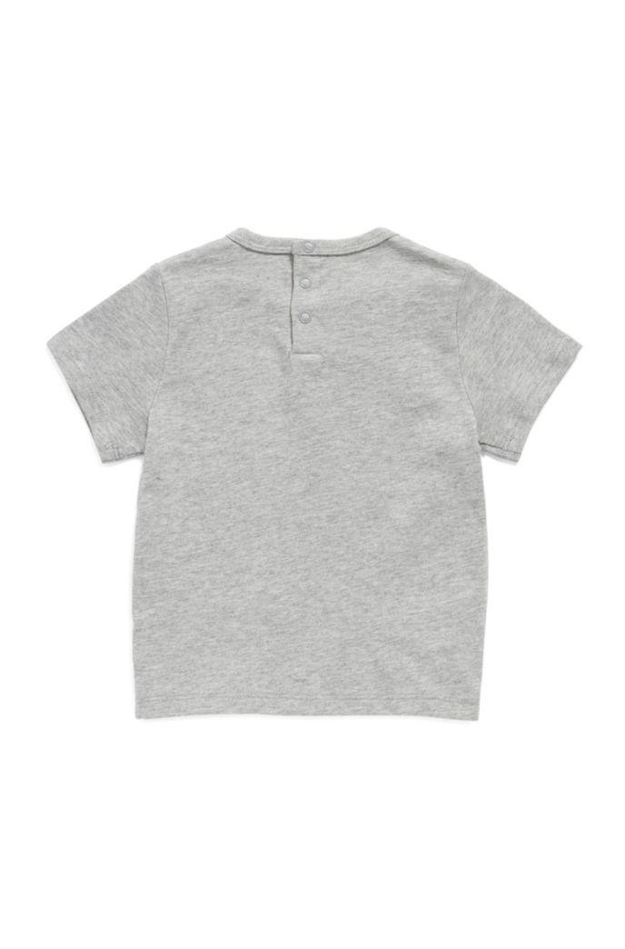 T-shirt en coton mélangé pour enfant avec logo artistique