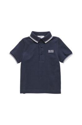 BOSS - Polo pour enfant en piqué de coton