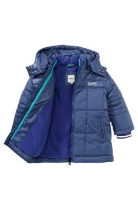 Kids-Outdoor-Jacke ´J06100` mit abnehmbarer Kapuze, Blau