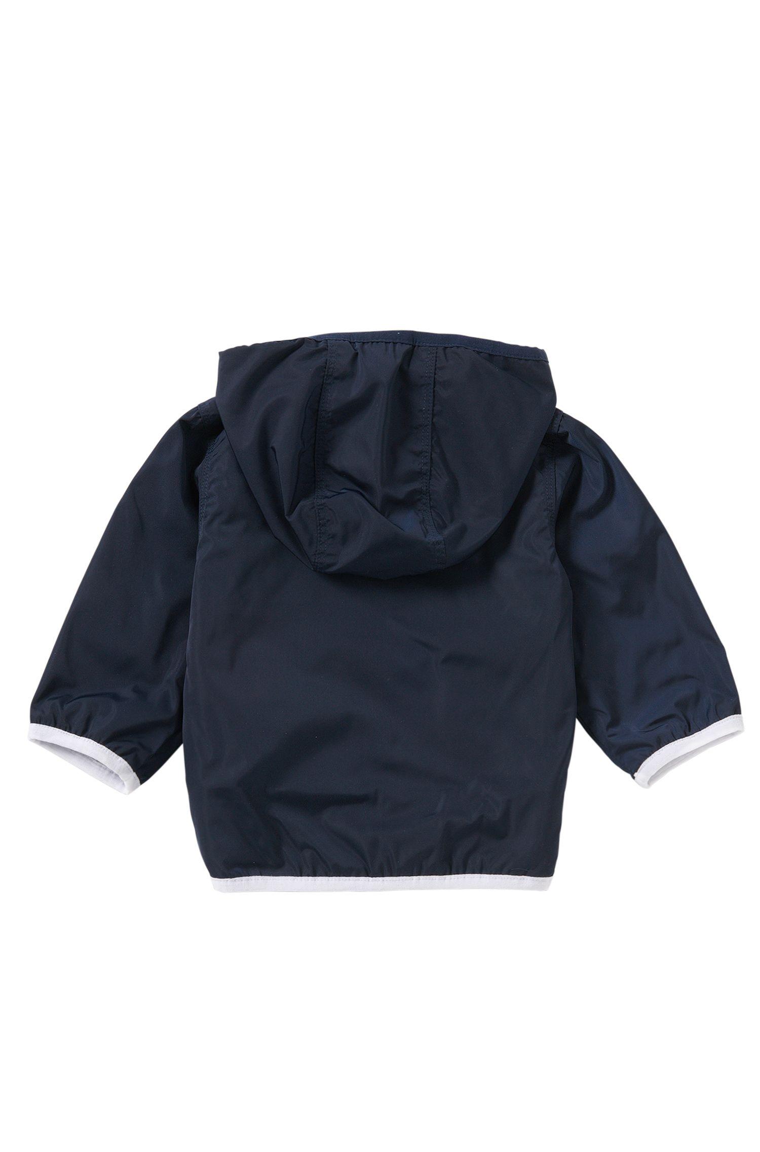 Blouson pour bébé doté d'une doublure en doux jersey: «J06133», Bleu foncé