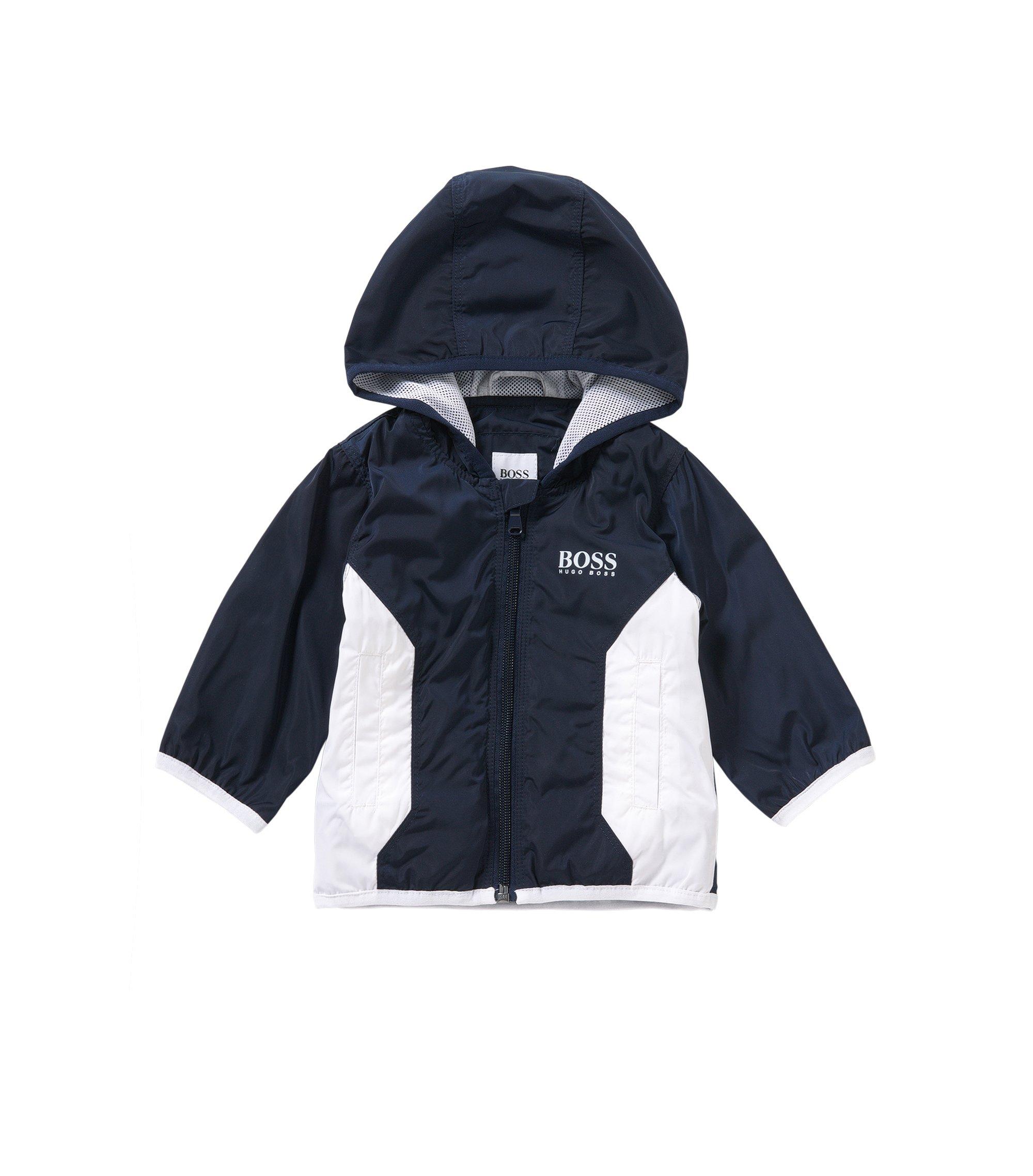 Baby-Jacke mit weichem Jersey-Futter: 'J06133', Dunkelblau