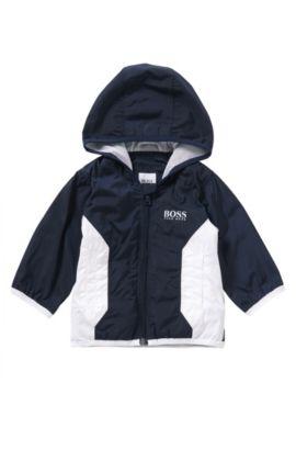 Babyjas met zachte jerseyvoering: 'J06133', Donkerblauw
