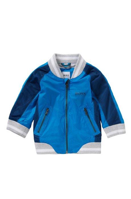 Baby-Jacke im College-Stil: 'J06135', Türkis