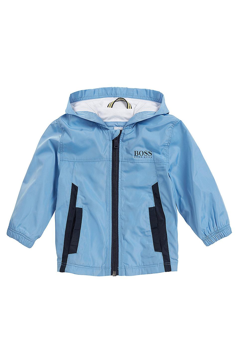 2cfaec3dd3c9 BOSS - Kids  windbreaker jacket with cotton jersey lining