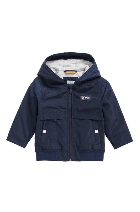 281b57548eaf BOSS - Kids  regular-fit windbreaker jacket with light padding