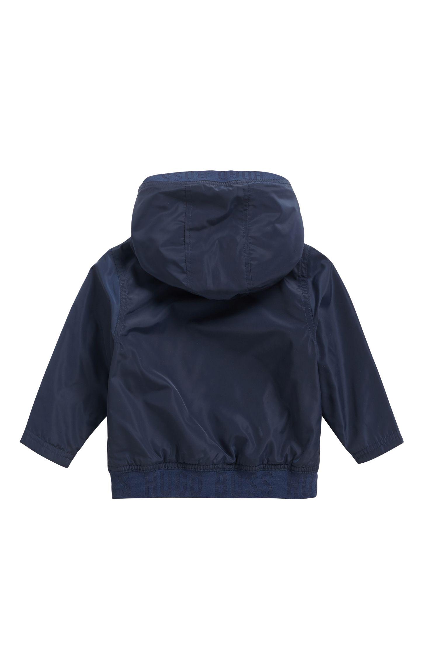 Veste coupe-vent pour enfant Regular Fit avec garnissage léger, Bleu foncé