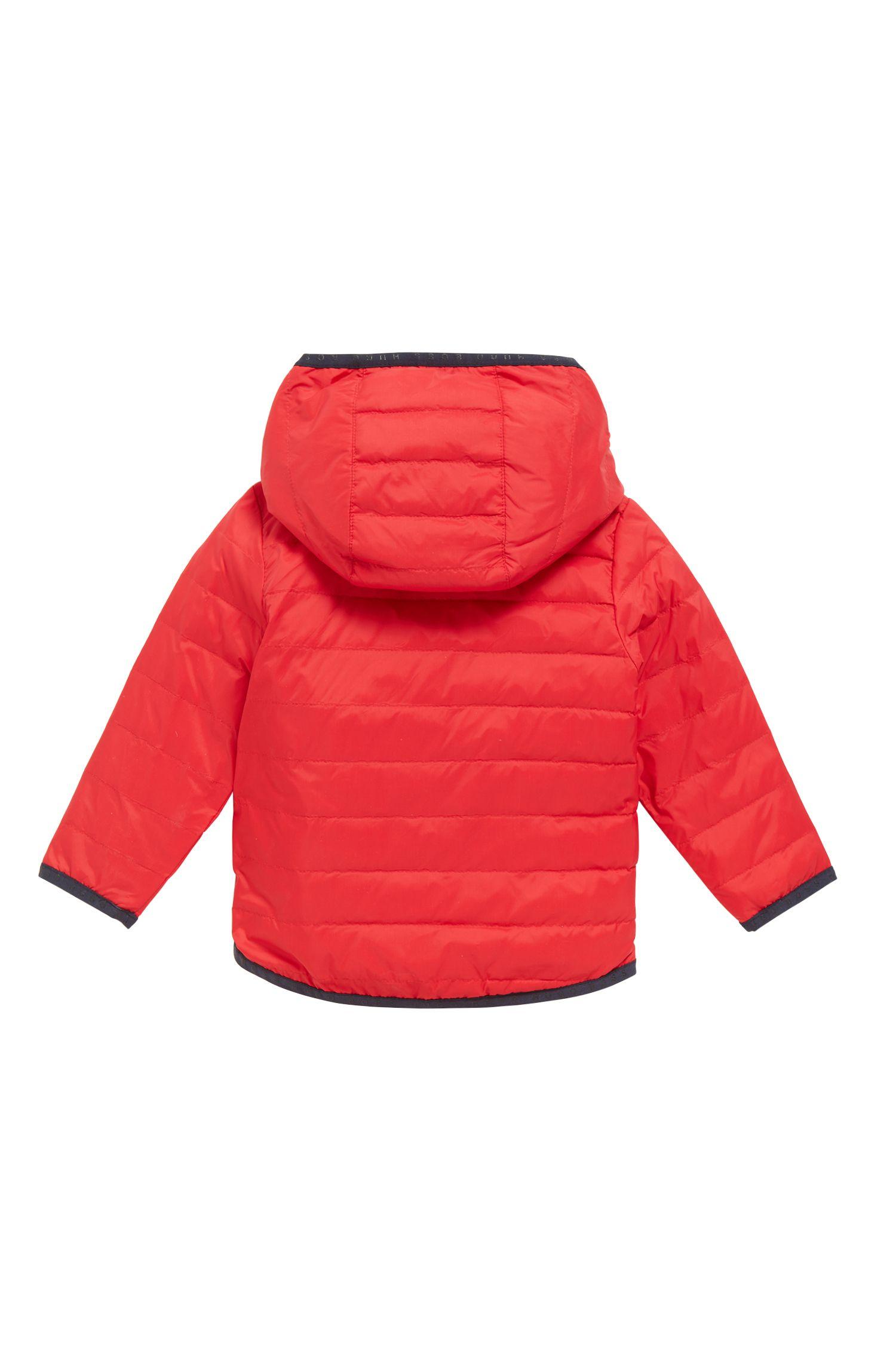 Doudoune Regular Fit pour enfant avec extérieur réversible, Rouge
