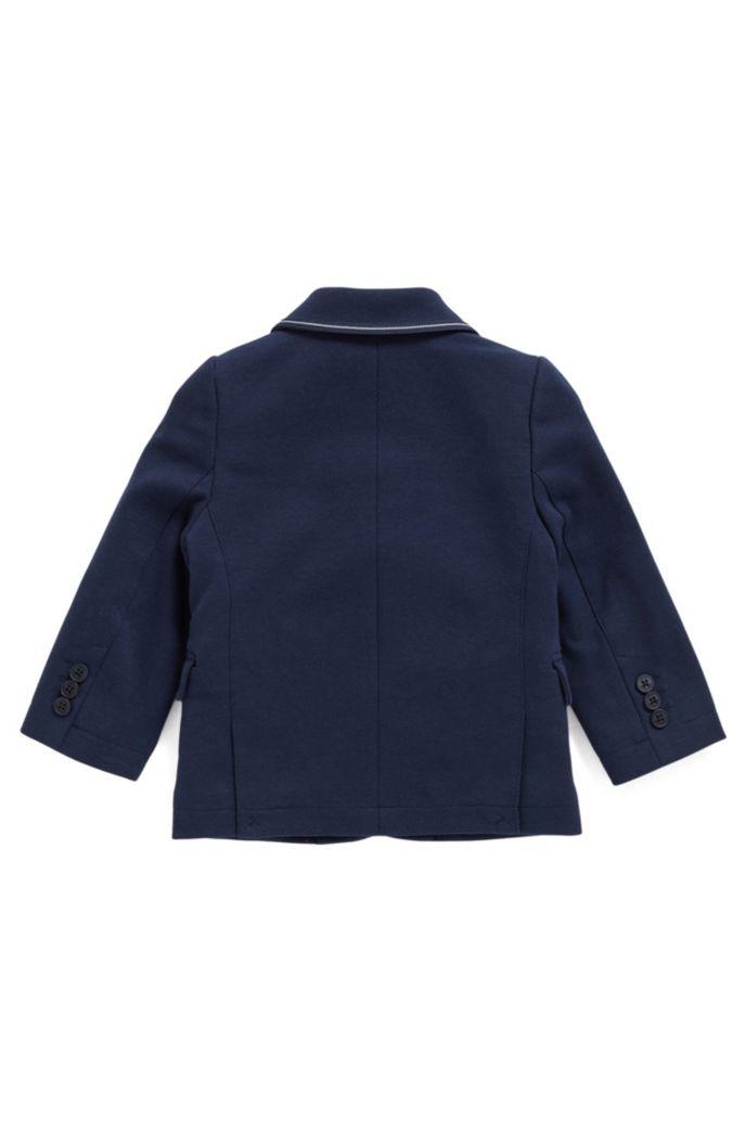 Veste pour enfant en jersey Milano avec carré de poche assorti