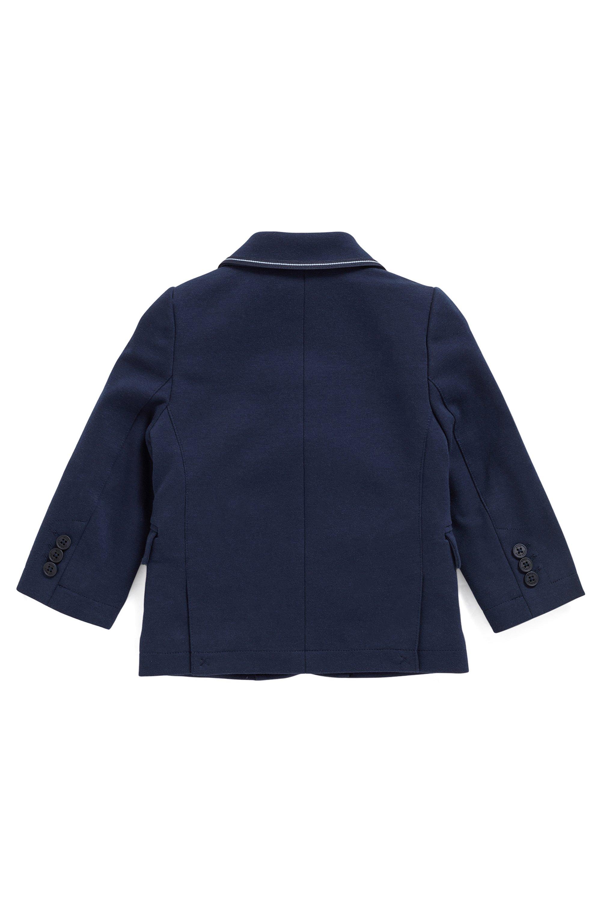 Kindercolbert van Milano-jersey met bijpassende pochet