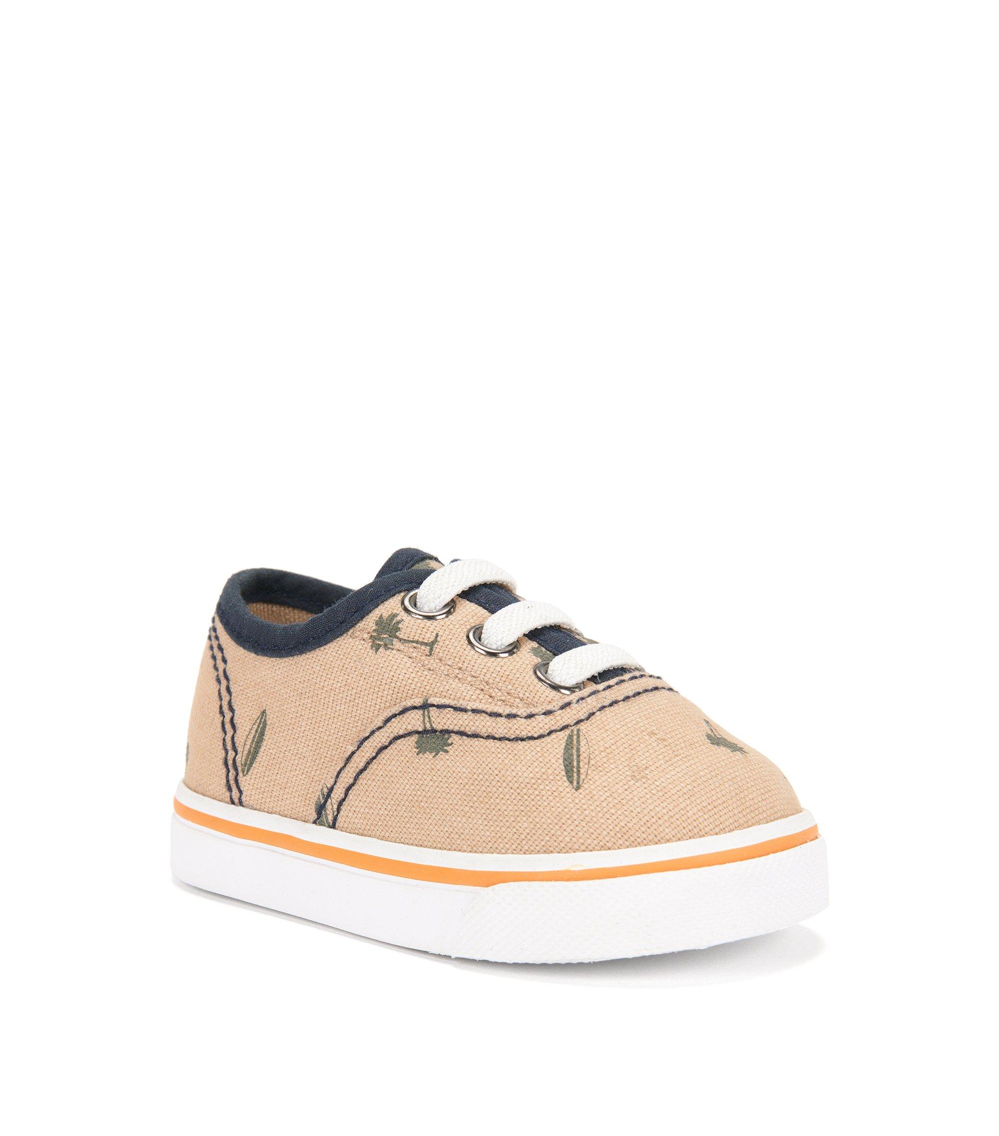Baby-Sneakers mit Print: 'J09083', Beige