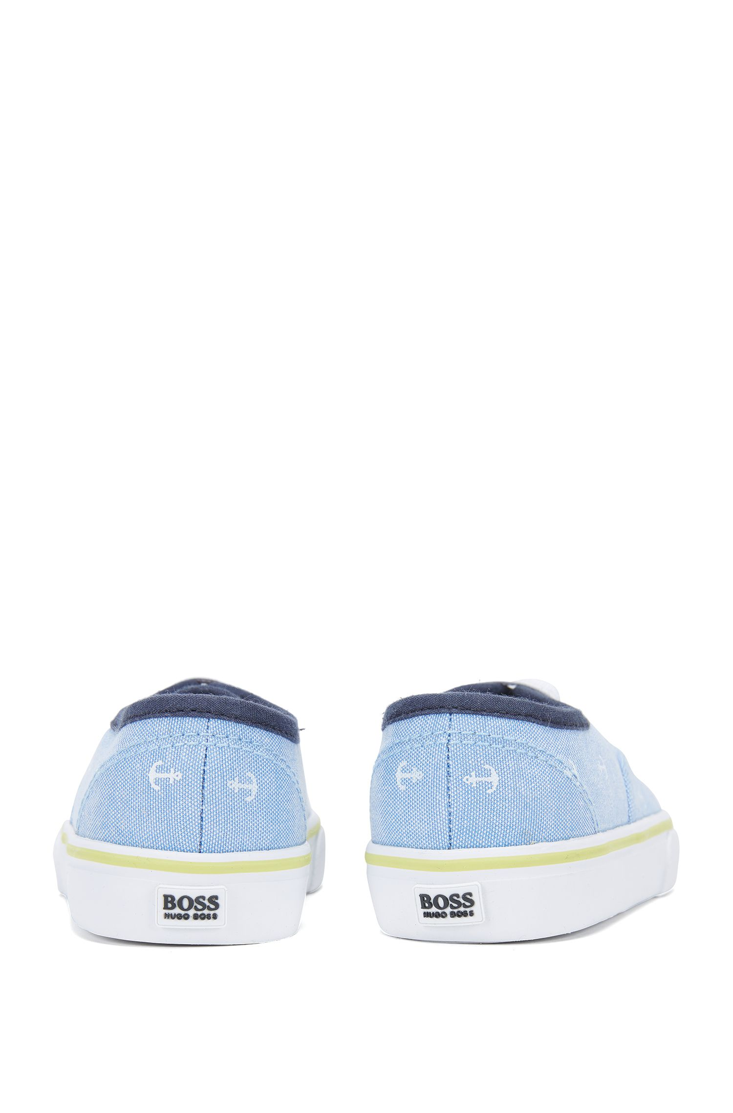 Kids-Sneakers aus bedrucktem Canvas: 'J09090'