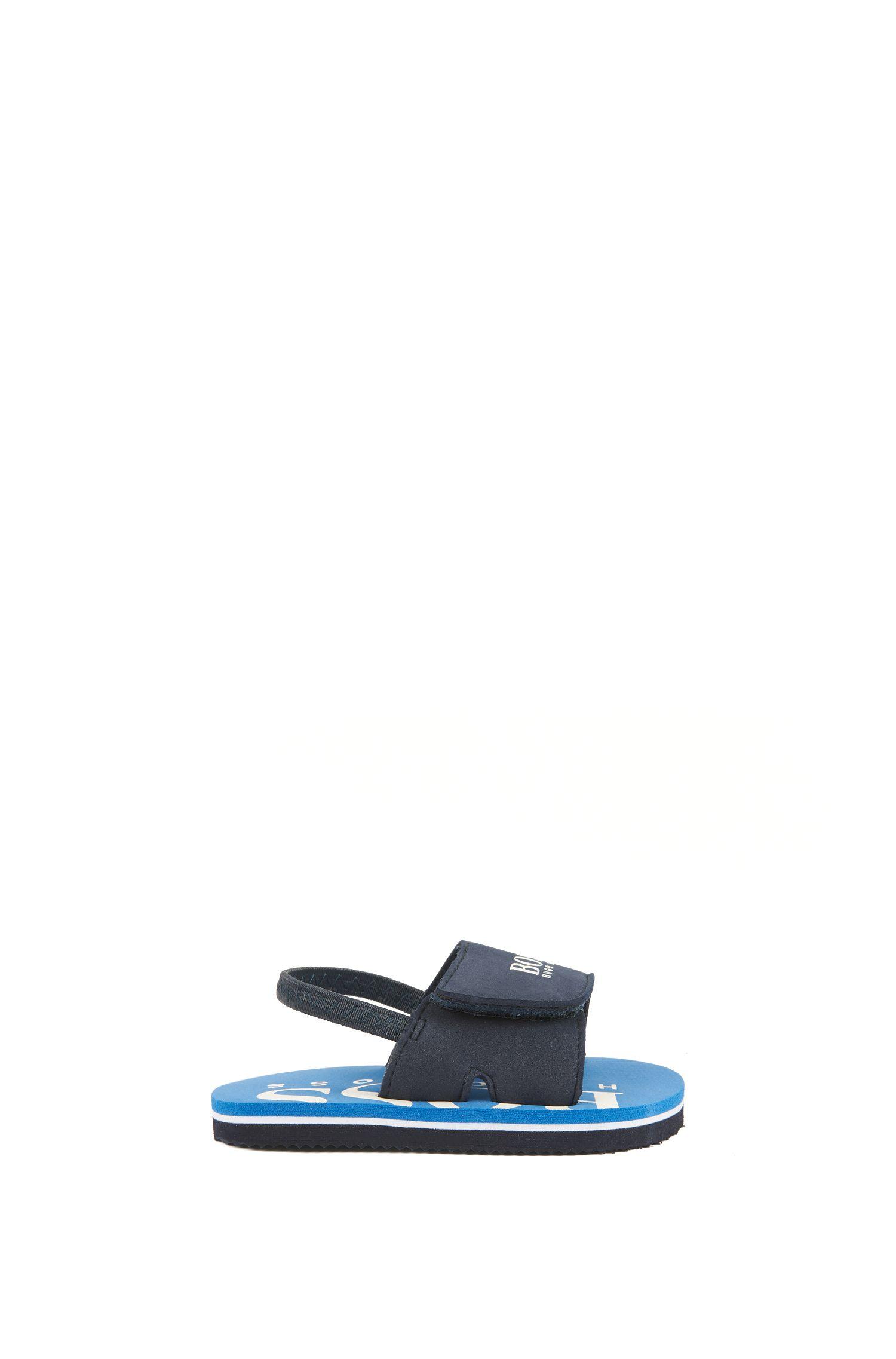 Sandales pour enfant à fermeture auto-agrippante, Bleu foncé